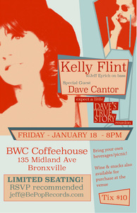 Kelly Flint w Jeff Eyrich and special guest Dave Cantor