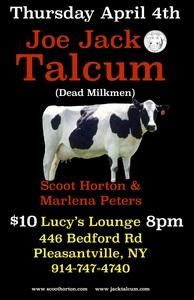 Joe Jack Talcum Dead Milkmen soloacoustic