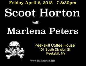 Scoot Horton with Marlena Peters