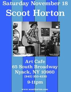 Scoot Horton Live