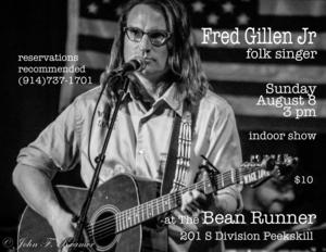 Fred Gillen Jr Folk Singer