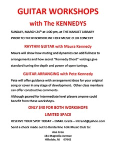 The Kennedys Guitar Workshop
