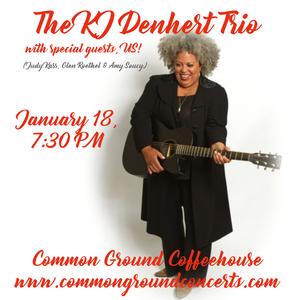 KJ Denhert Trio w special guests US