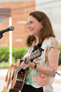 Susan Kane at the Pleasantville Farmers Market