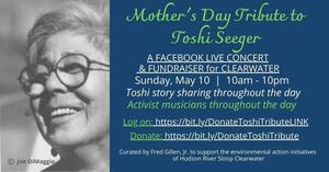 Mother039s Day Tribute to Toshi Seeger to Benefit Clearwater
