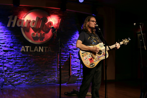 Fred Gillen Jr solo acoustic rock show