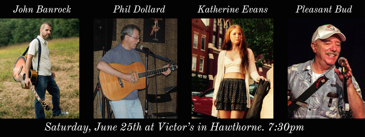 Banrock Dollard Evans and Pleasant Bud An Evening of SingerSongwriters