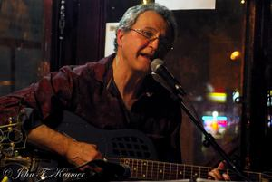 Phil Dollard performs at Birdsall House