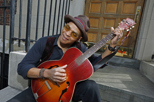 Guy Davis Blues Musician