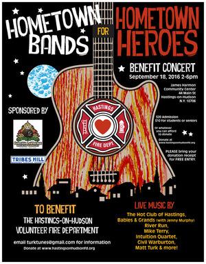Hometown Bands for Hometown Heroes