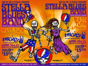 Stella Blues Band with special guest Matt Turk amp Friends
