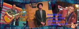 The John Banrock  Joe No  Steve Skwarek SingerSongwriter Circle Mini Tour 2014