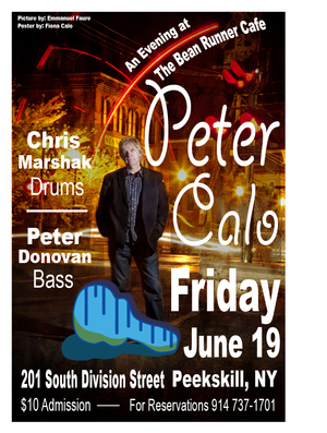 An Evening with Peter Calo at the Bean Runner Cafe