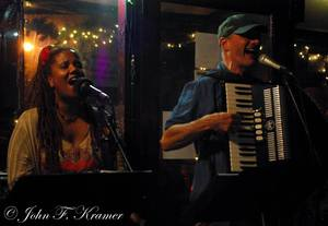 Curtis Becraft amp Carla Lynne Hall at the Starving Artist