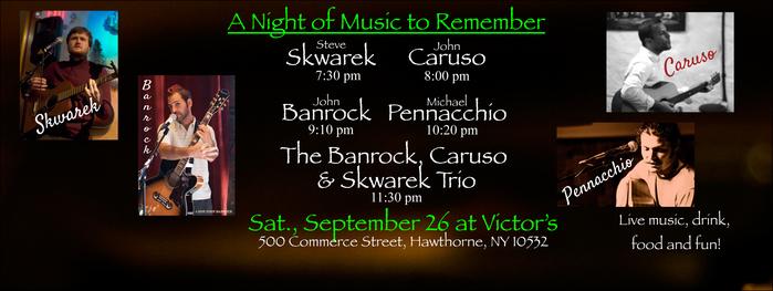 Banrock Caruso Pennacchio Skwarek and The Banrock Caruso amp Skwarek Trio