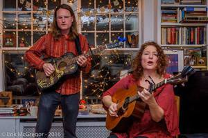Lisa Gutkin and Fred Gillen Jr and Community Sing