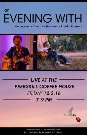 An Evening with Leo Harmonay amp John Banrock