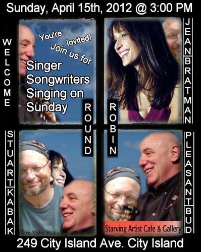 Singer Songwriters Singing Songs Sunday
