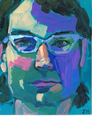 half hour portrait by Jessica Miller