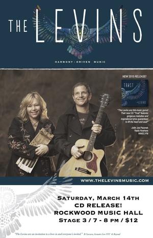 The Levins CD Release Concert nbspquotTRUSTquot nbspwith special guestshellip