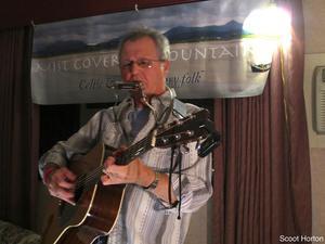 Phil Dollard performs at Club Fit