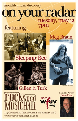 On Your Radar with Meg Braun Gillen amp Turk and Sleeping Bee hosted by John Platt of WFUV