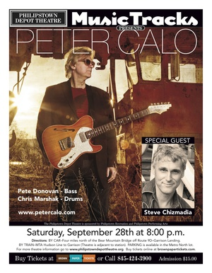 Music Tracks presents Peter Calo nbspwith special guest nbspSteve Chizmadia