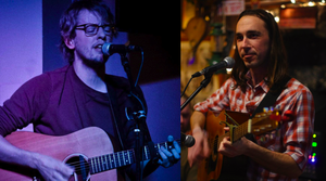 Sunday Songwriters with Jasper Lewis and Rob McMahon