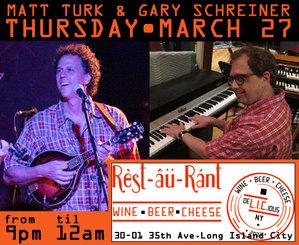 Matt Turk amp Gary Schreiner