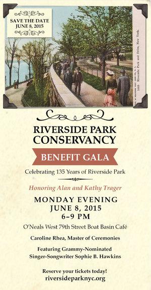 Riverside Park Conservancy ldquoBenefit Galardquo Caroline Rhea Master of Ceremonies Performance Sophie B Hawkins with Peter Calo