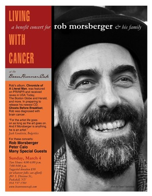 Benefit Concert for Rob Morsberger amp His Family