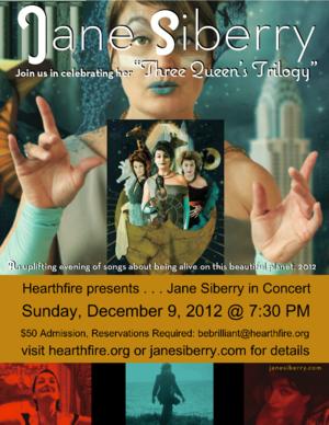 Hearthfire presents Jane Siberry