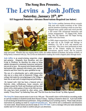 Josh Joffen and The Levins in Concert