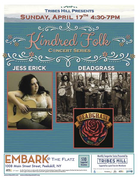 Tribes Hill PresentsDeadgrass and Jess Erick