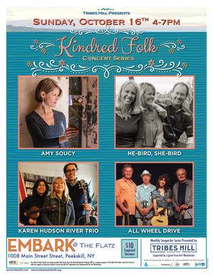 Tribes Hill Presents Kindred Folk at Embark Peekskill