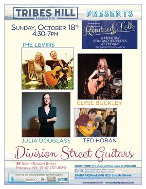 Tribes Hill Presents at Embark Peekskill Sunday October 18th