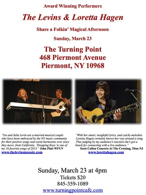 The Levins and Loretta Hagen at The Turning Point