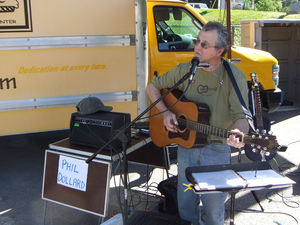 Phil Dollard at the Ossining Farmers039 Market
