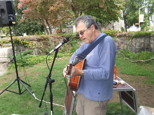 Phil Dollard at the John Jay Homestead Farm Market