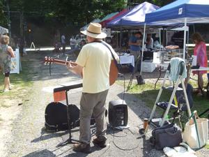 Phil Dollard at the Croton Farmers039 Market
