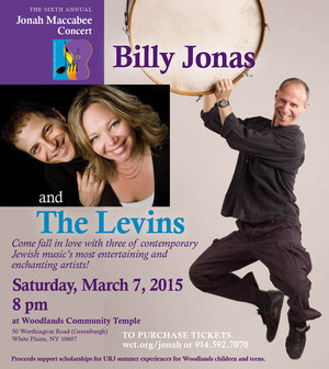 The Levins and Billy Jonas nbsp6th Annual Jonah Maccabee Concert
