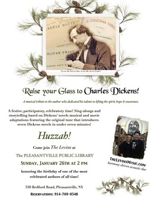The Levins  Raise your Glass to Charles Dickens