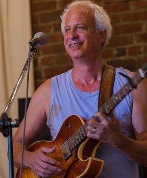 Larry Kolker at the Art Cafe