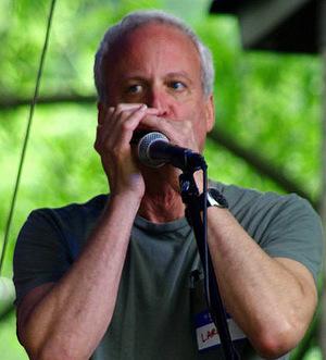 Larry Kolker plays the John Street Jam