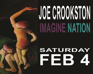 Joe Crookston Brings Imagine Nation to Irvington Town Hall Theater
