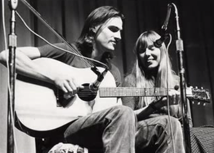 Joni and James : The Music of Joni Mitchell and James Taylor performed by  Anne Carpenter and Peter Calo