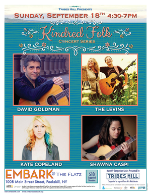 Tribes Hill Presents at Embark Peekskill Sunday September 18th