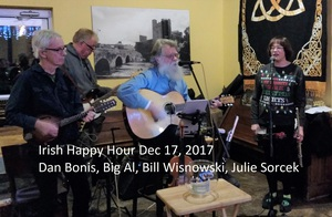 Irish Happy Hour with host Bill Wisnowski at the Abbey with special guests Jeff Smith and Emma Yahn