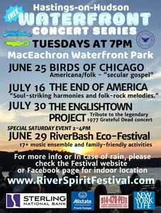 River Spirit Free Summer Music Series in HastingsonHudson