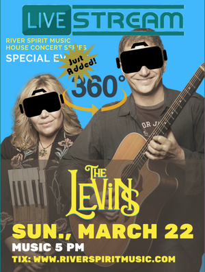 The Levins039 Livestream Concert at River Spirit Music